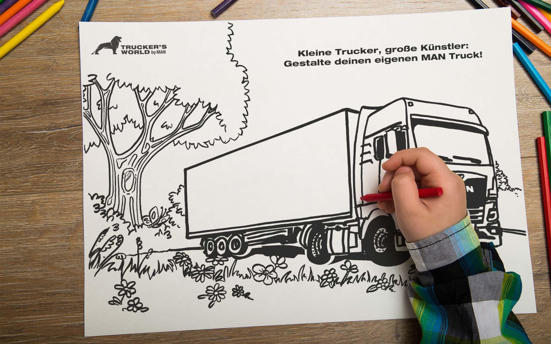 kleine trucker große künstler  trucker's world deutschland